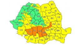 Read more: Argeșul și Vâlcea, sub COD PORTOCALIU de vreme rea. Apoi, vine CANICULA