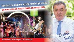 Read more: CRISTIAN GENTEA: Organizăm la Pitești FESTIVALUL care va pune orașul pe harta marilor evenimente din România