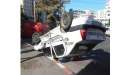 Read more: Mașină de poliție răsturnată în centrul Piteștiului. Polițistul aflat la volan a fost dus la spital