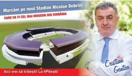 """Read more: Cristian Gentea: """"Noul stadion al Piteştiului va fi o bijuterie în palmaresul arenelor naţionale"""""""