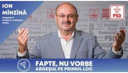 Read more: Ion Mînzînă, candidatul PSD la președinția Consiliului Județean : Am ambiția ca Argeșul să  devină prima atracție turistică din România