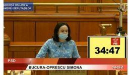 """Read more: Deputatul Simona Bucura Oprescu, discurs fulminant în Parlament. """"Prefecții fac acțiuni murdare"""""""