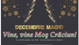 """Read more: Râmnicu Vâlcea: Joi, 20 decembrie, spectacol extraordinar în Scuarul Mircea cel Bătrân: """"Vine, vine Moş Crăciun!"""""""