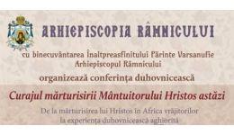 Read more: Conferință duhovnicească susținută de Preacuviosul schimonah Damaschin Grigoriatul de la Sfântul Munte Athos. Intrarea este LIBERĂ