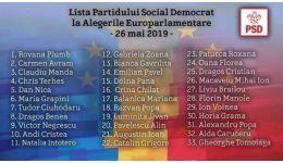 Read more: Lista candidaţilor PSD pentru alegerea membrilor din România în Parlamentul European