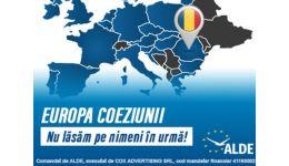 Read more: ALDE: Europa coeziunii. Nu lăsăm pe nimeni în urmă!