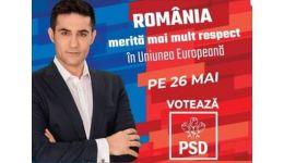 """Read more: Claudiu Manda, candidat PSD pentru Parlamentul European: """"Datoria publică a scăzut cu 2% pe timpul guvernării PSD"""""""