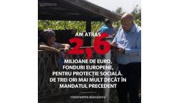 Read more: 2,6 milioane euro, fonduri europene investite în protecția socială, în mandatul președintelui Constantin RĂDULESCU! De trei ori mai mult decât în mandatul precedent!