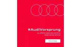 Read more: Nurvil Rm. Vâlcea: Audi lansează Audi Online Deal. 1000 de euro reducere pentru rezervările online
