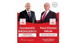 """Read more: Constantin Rădulescu: """"Alături de viitorul primar, Paul Florian PĂUN, vom continua să facem fapte bune pentru cetățenii din Bălcești!"""""""