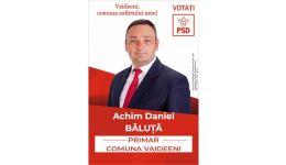 Read more: Daniel Achim Băluță, un primar gospodar, un primar pentru un nou mandat la Vaideeni!