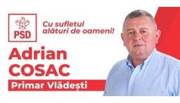 Read more: Primarul Adrian Cosac, întotdeauna alături de oamenii săi din Vlădești! Proiecte realizate