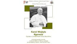"""Read more: Mâine, la Biblioteca """"Antim Ivireanul"""", eveniment cultural dedicat aniversării a 100 de ani de la nașterea Papei Ioan Paul al II-lea"""