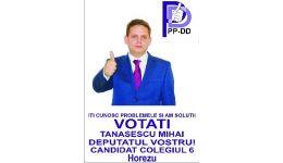 """Read more: Alegeri în Vâlcea. Mihai Tănăsescu: """"Cu ajutorul dumneavostră, începând cu 9 decembrie domnul Vlădoiu  ar putea să aibă grijă de sănătate și să se bucure de nepoți…"""""""