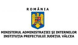 Read more: Instituția Prefectului Județul Vâlcea. Comunicat de presă