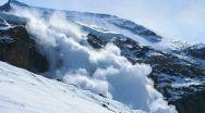 Risc mare de avalanşă în Făgăraş