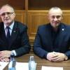 Deputații PSD Eugen NEAȚĂ și Vasile COCOȘ, întâlnire cu cetățenii la biroul parlamentar din Horezu