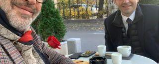 Daniel Constantin și-a băut cafeaua și a stat de vorbă despre România cu marele Billy Zane